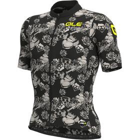 Alé Cycling PRR Las Vegas SS Jersey Men, black/dove grey